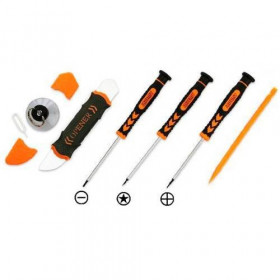 Kit 7 en 1 herramientas profesionales universales de reparación para teléfonos inteligentes y teléfonos móviles