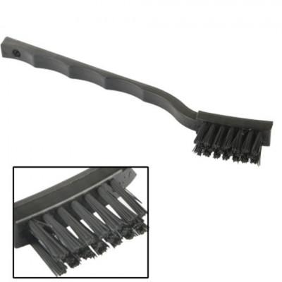 Spazzolino curvo antistatico per puliza schede elettroniche riparazione cellulari
