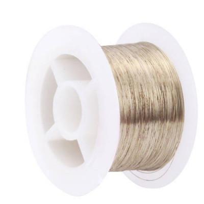 Cable De 100 Mt De Molibdeno Para Separación De Pantalla