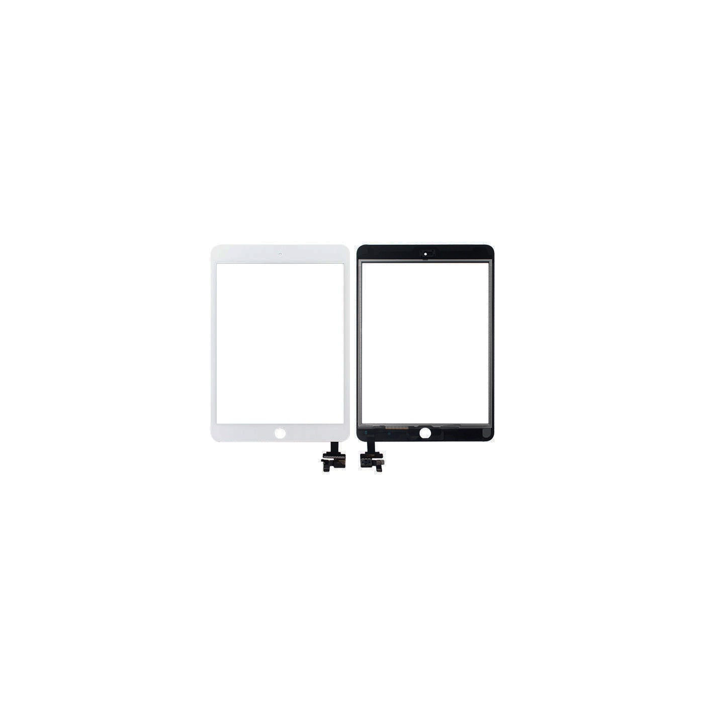Touch screen per apple ipad mini 3 wifi 3g vetro schermo bianco + adesivo