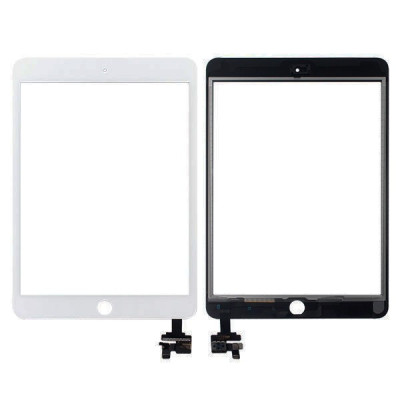 Touch screen for apple ipad mini 3 wifi 3g blank glass screen sticker +