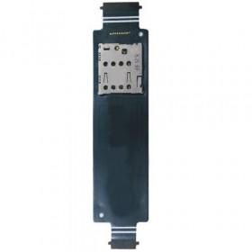 Lecteur de carte SIM Flex plat Asus Zenfone 5 A500KL sim Lecteur de carte no T00J