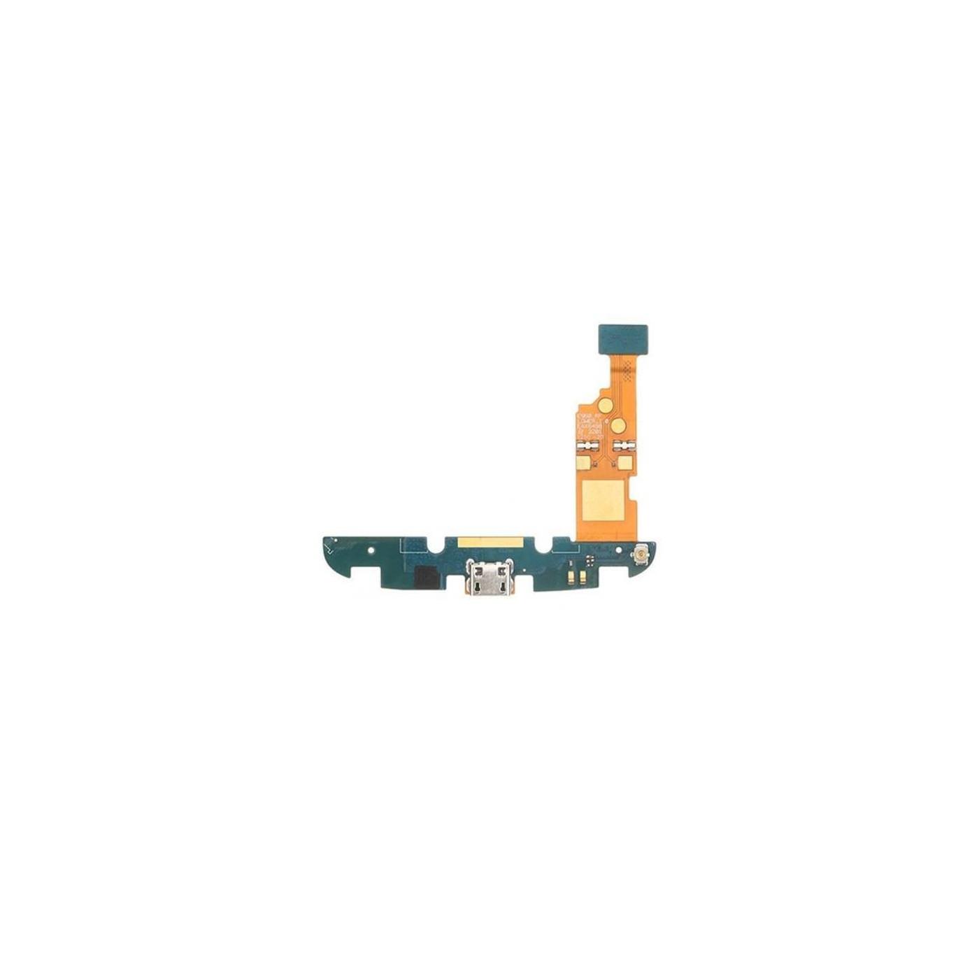 Conector de carga plana y flexible para Google Nexus 4 E960 que carga el puerto de datos usb