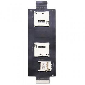 Flex flat lettore scheda sim card Asus Zenfone 2 SIM SD Card Reader ricambio