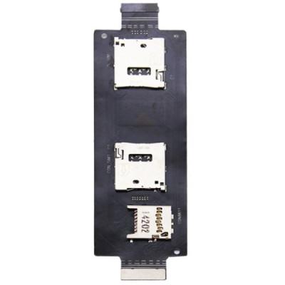 Flex flacher Sim-Kartenleser Asus Zenfone 2 SIM-Kartenleser SD-Karte