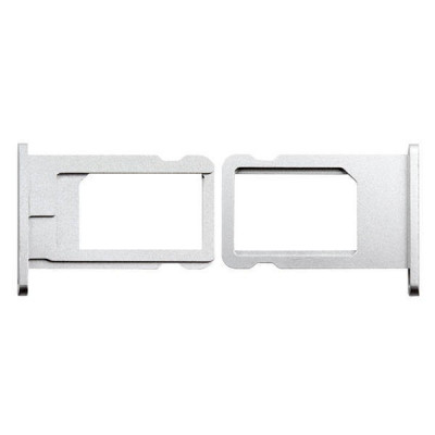 SUPPORT DE CARTE SIM Apple iPhone 6 PLATEAU À PLAT SILVER SLOT SLIT TROLLEY