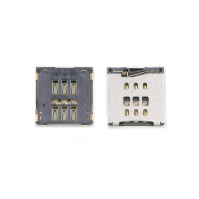 Connettore sim card per Iphone 6 lettore nano SIM Card Reader Contact