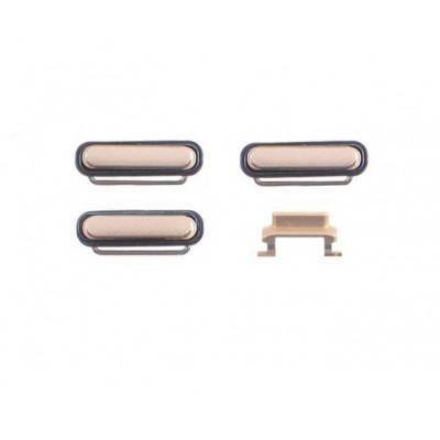 kit 3 en 1 clés pour apple iphone 6 volume d'allumage or et silencieux