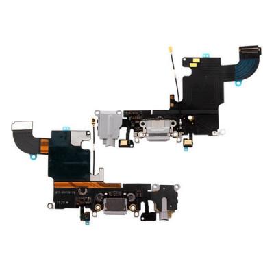 Cavo Flat Connettore Di Ricarica Per Iphone 6S Grigio Chiaro Dock Microfono