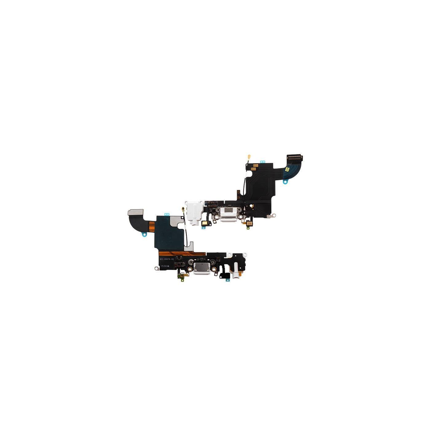 Connecteur de charge plat flexible pour microphone audio dock blanc iphone 6S