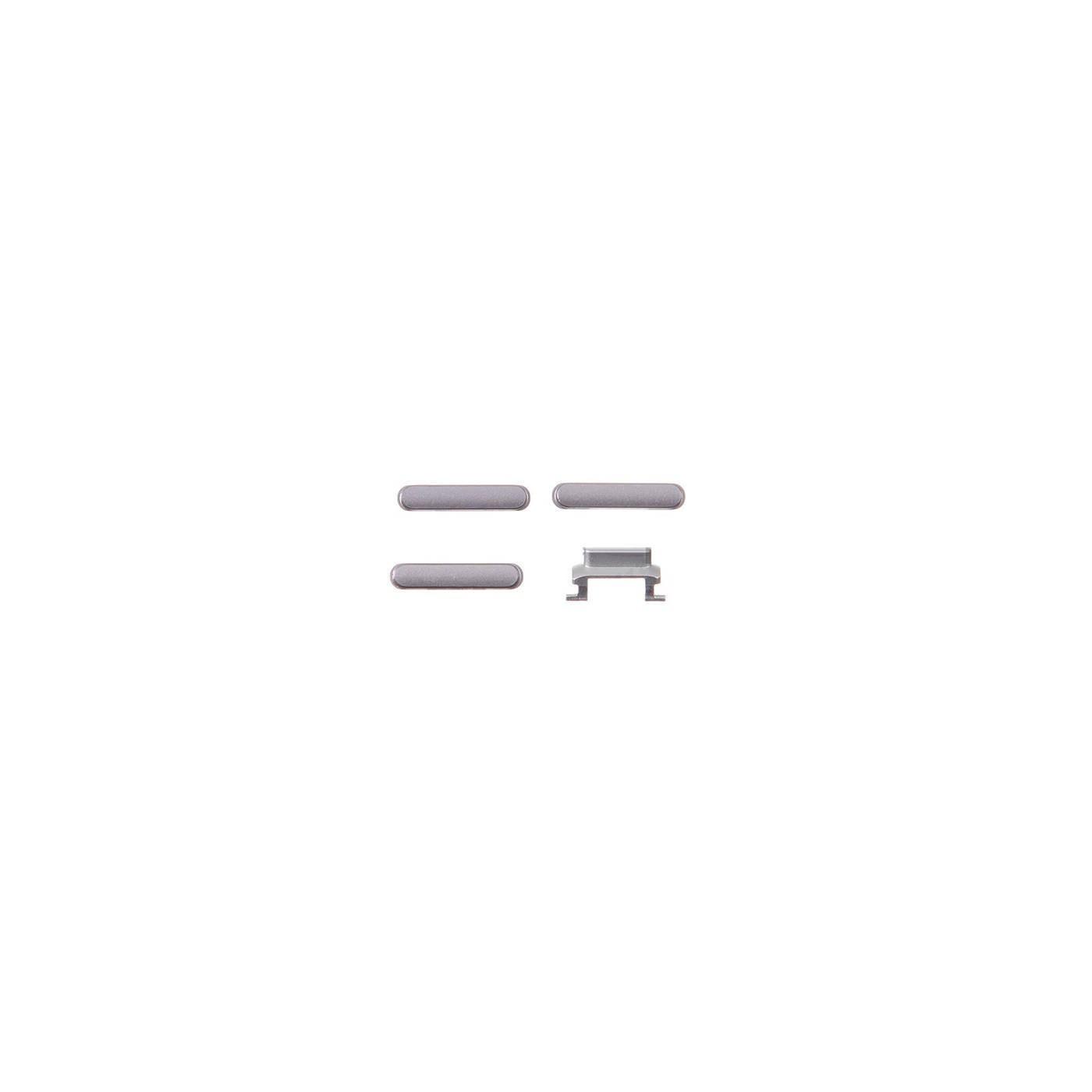 kit 3 en 1 clés pour apple iphone 6 plus volume gris et allumage silencieux