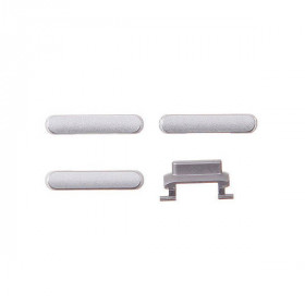 kit 3 in 1 tasti per apple iphone 6 plus silver accensione volume e silenzioso