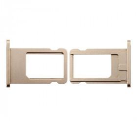 Porta sim scheda iphone 6 plus gold slot slitta carrello vassoio ricambio