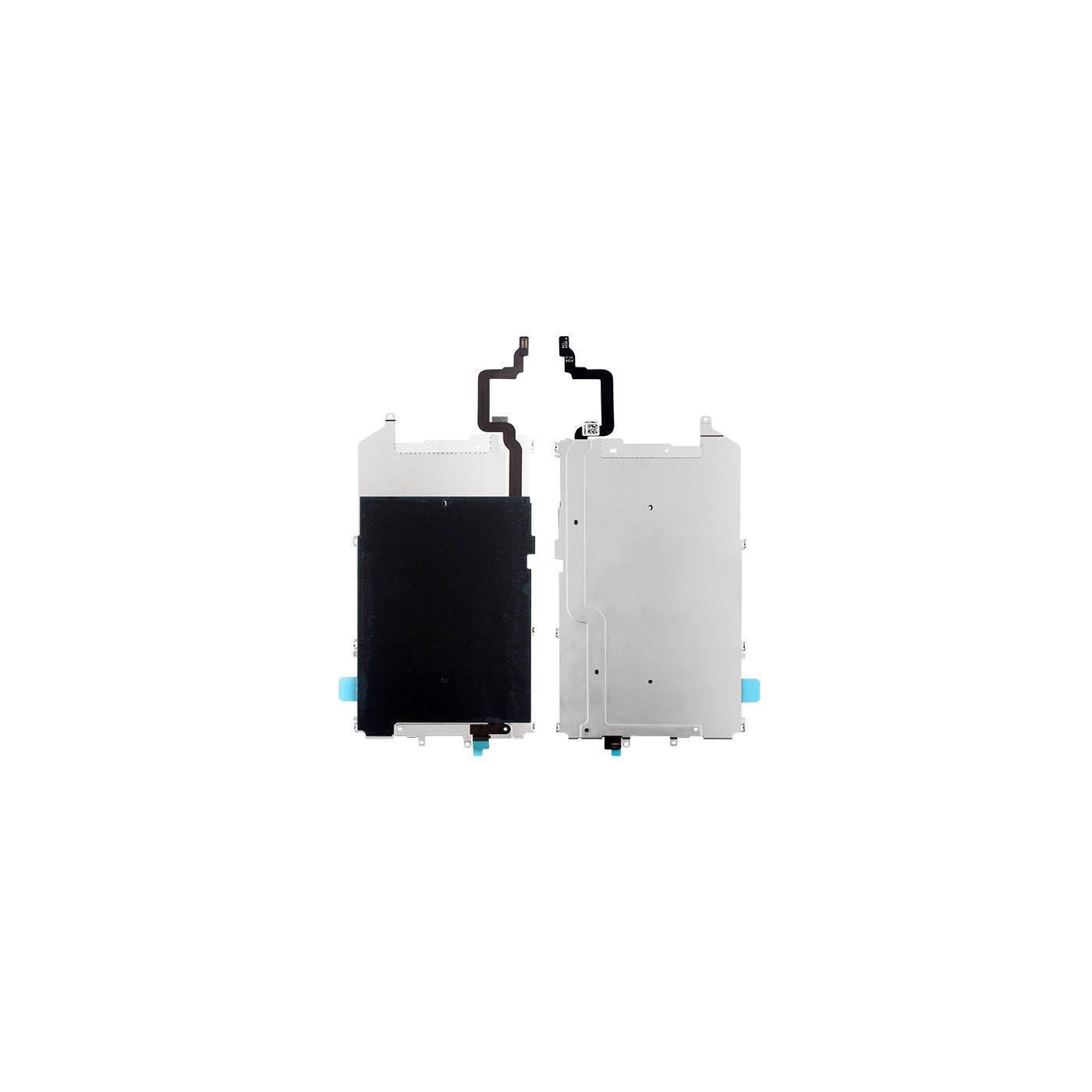 Telaio supporto posteriore lcd metallo per Iphone 6 plus con cavo tasto home