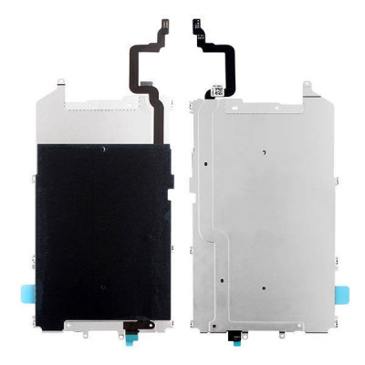 Soporte Trasero De Pantalla De Metal Para Iphone 6 Plus + Cable De Botón De Inicio