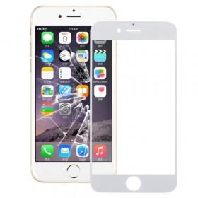 Vetrino vetro iphone 6S PLUS bianco schermo touch frontale