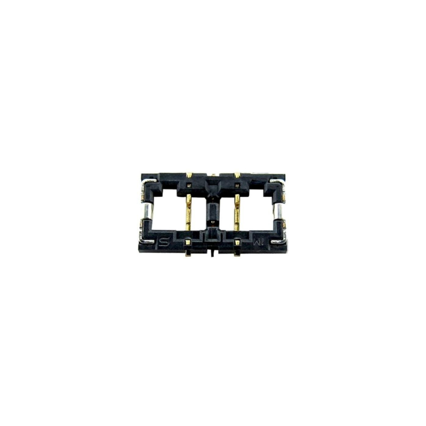 Connettore batteria Iphone 6 saldato Battery Connector Contacts