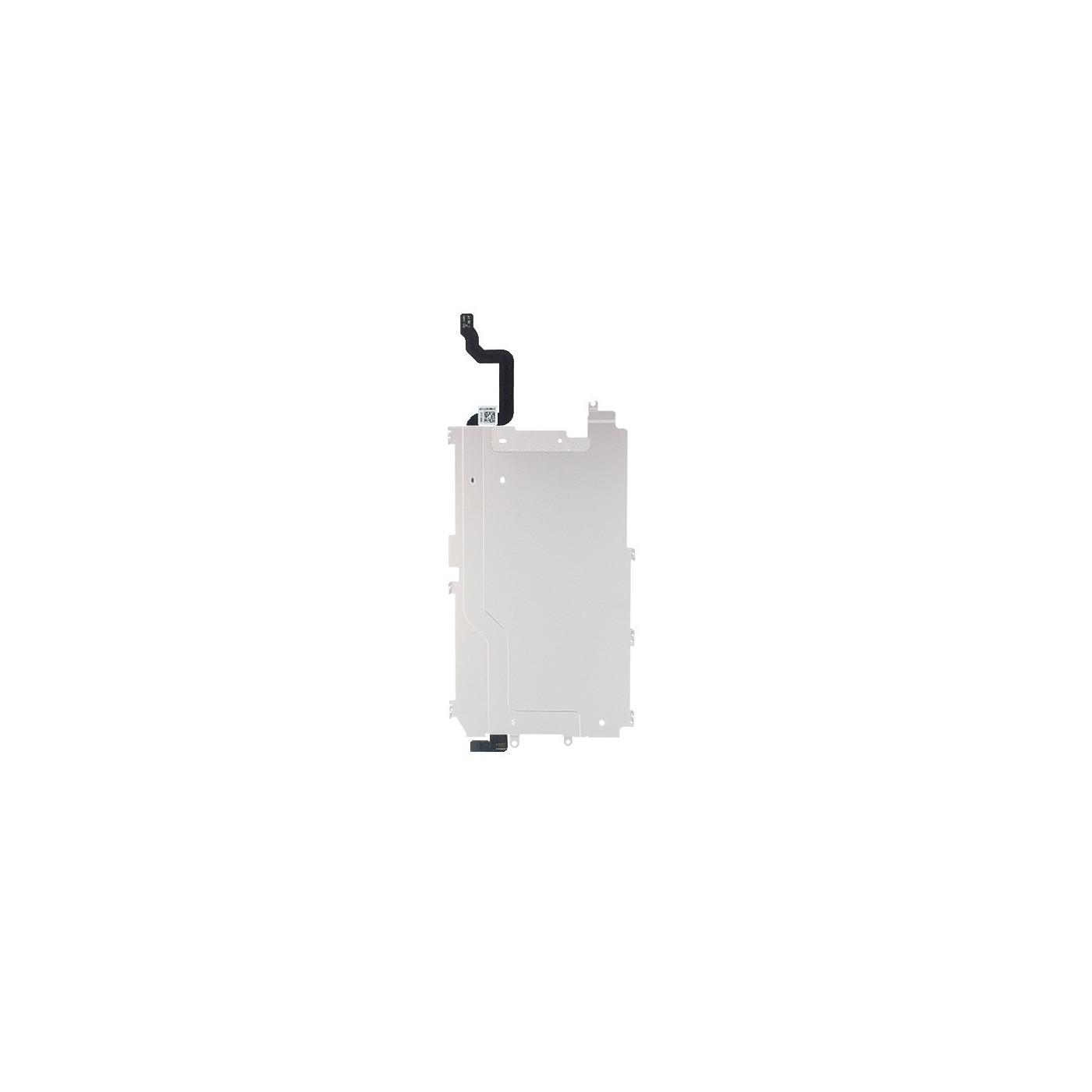 Cadre de support arrière en métal pour Iphone 6 avec câble de bouton d'accueil