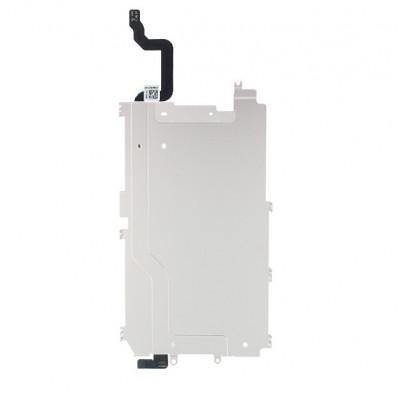 Soporte Trasero De Metal Lcd Para Iphone 6 Con Cable De Botón De Inicio