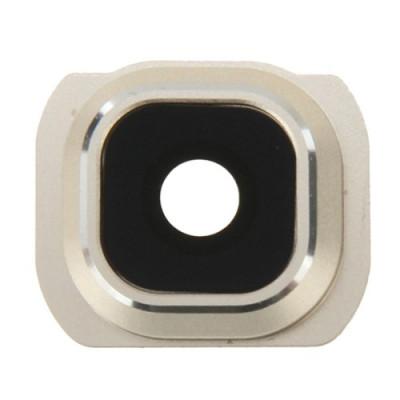 Objectif caméra Camera Lens + Gold Frame Support Samsung Galaxy S6