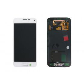 Display lcd touch schermo samsung S5 mini bianco G800F originale GH97-16147B