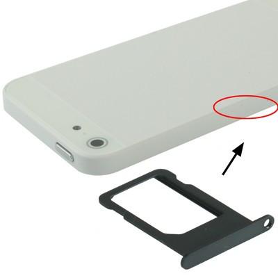 Support Sim Pour Iphone 5 Noir