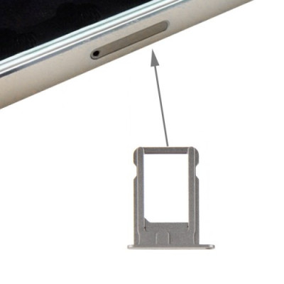 Support Sim Pour Iphone 5S Gris