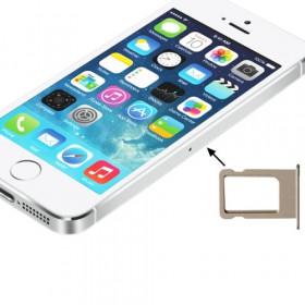 Porta sim scheda iphone 5s golden slot slitta carrello vassoio ricambio