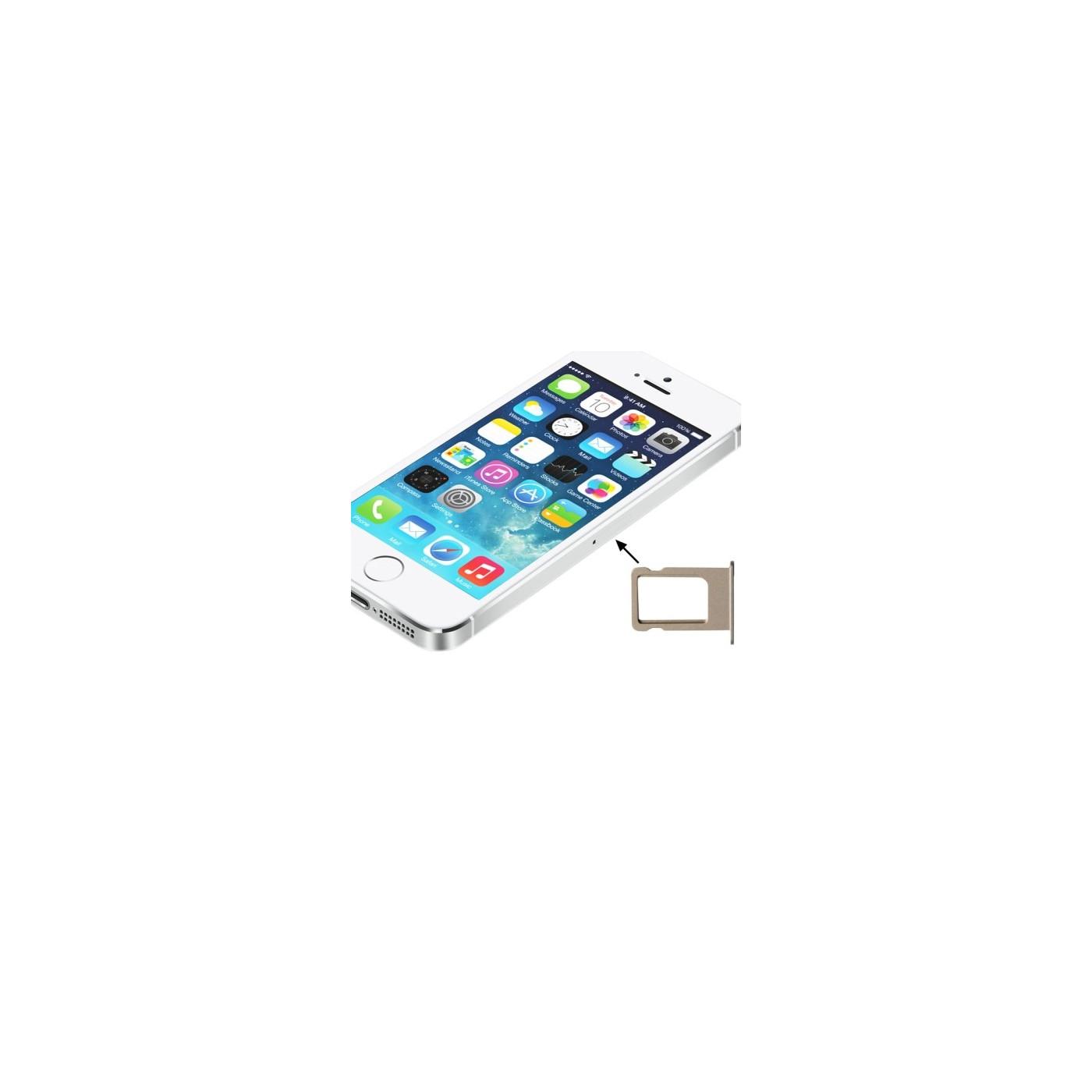 Soporte para tarjeta SIM iphone 5s ranuras doradas deslice el reemplazo de la bandeja del carro