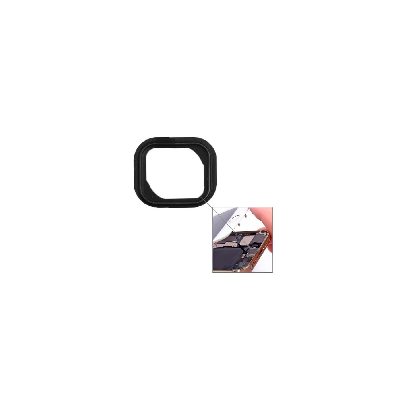 Coussin en plastique pour bouton bouton Home pour iPhone 5S
