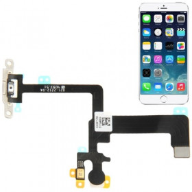 FLAT FLEX PER Apple iPhone 6 TASTO PULSANTE POWER ON OFF FLASH MICROFONO