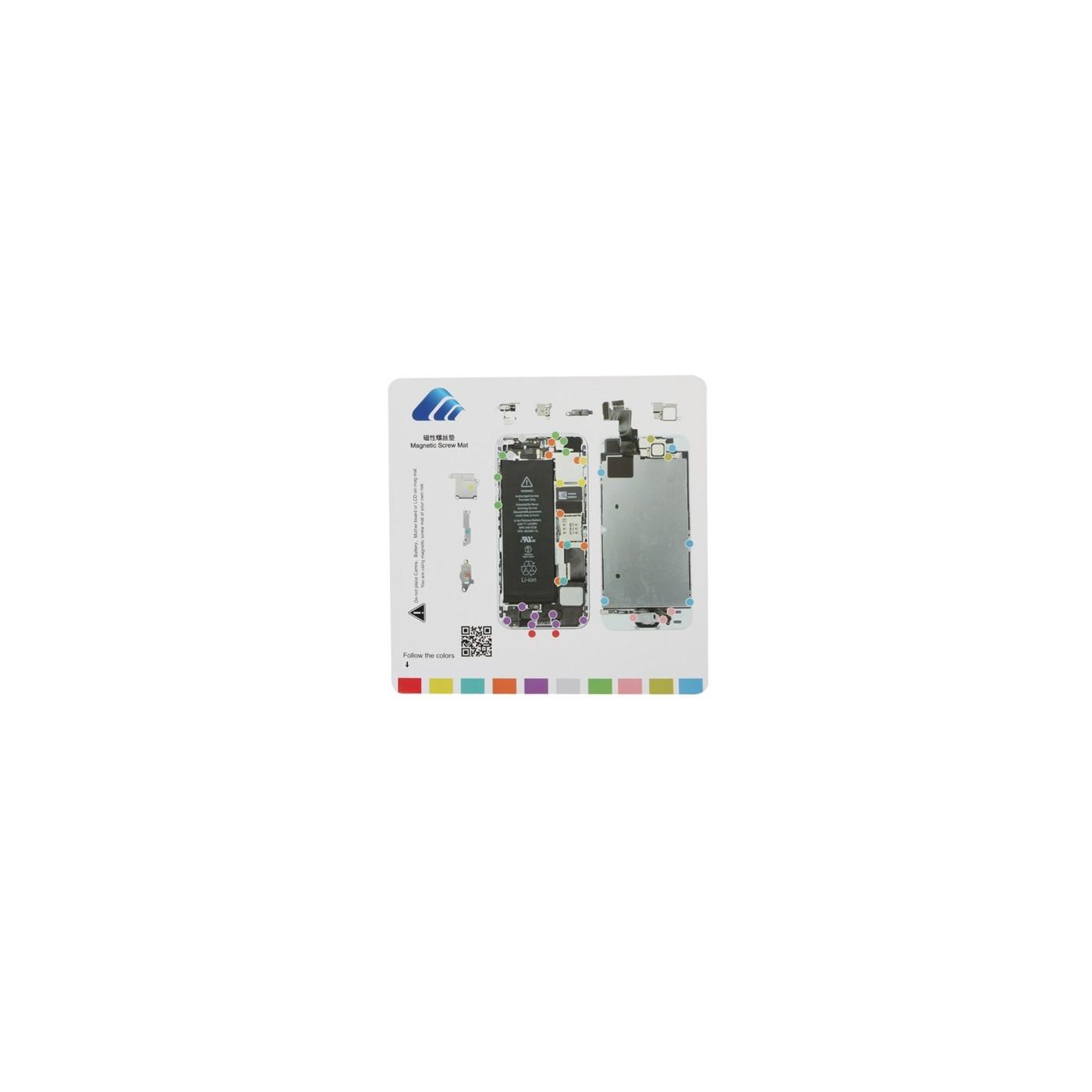 Tappeto magnetico per riparazione iPhone 5s tools 20 cm x 20 cm tappetino