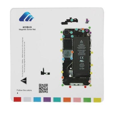 Tappeto Magnetico Per Riparazione Iphone 4 Tools 20 Cm X 20 Cm Tappetino