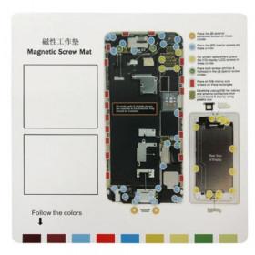 Tappeto magnetico per riparazione iPhone 6 - 6s tools 26 cm x 25 cm tappetino