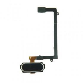 Botón de inicio botón negro para Samsung Galaxy S6 Edge G925 flexión central plana