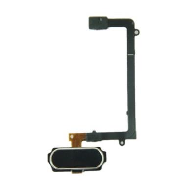 Cavo Flat Tasto Home Pulsante Nero Per Samsung Galaxy S6 Edge G925 Centrale