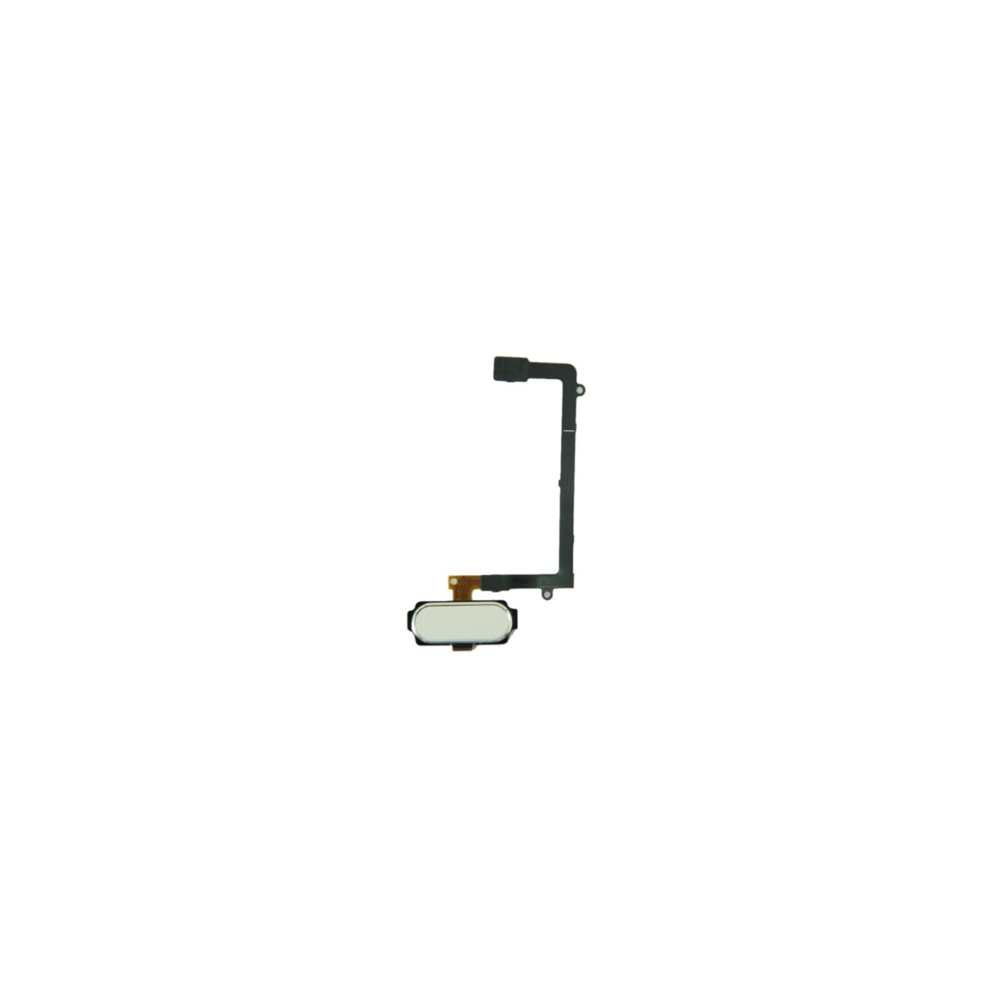 white home button key for samsung galaxy S6 Edge G925 central flat flex