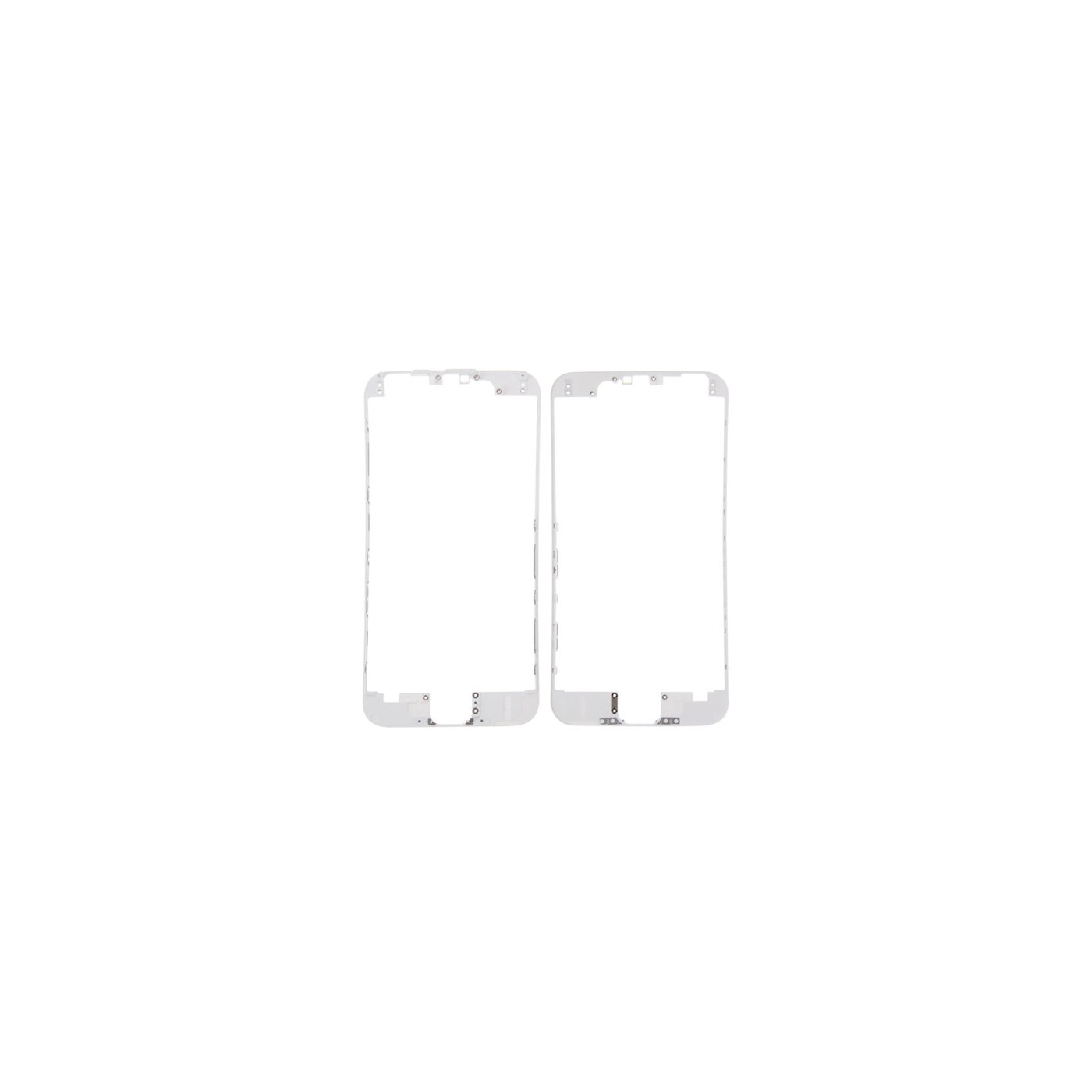 Cornice digitizer frame LCD per iphone 6s bianco