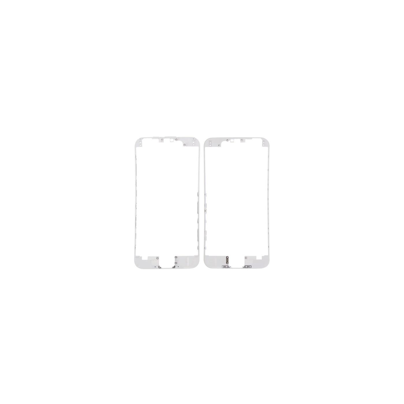 Marco digitalizador LCD marco para iphone 6s blanco