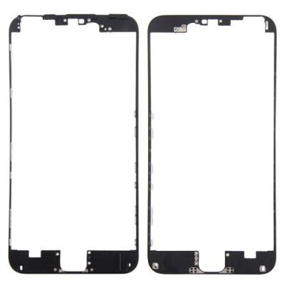 Marco digitalizador de cuadros LCD para iPhone 6s Plus negro