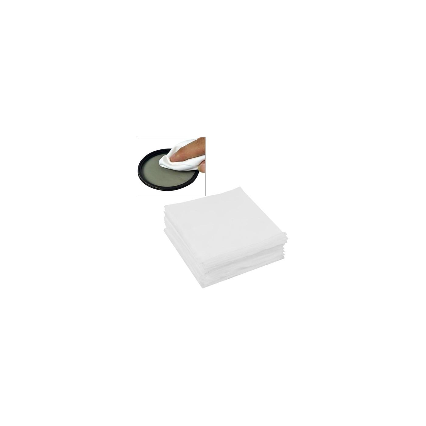 Panno di pulizia schermo LCD Occhiali lente riparazione cellulare 100 pezzi