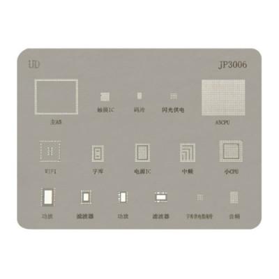 Pochettes de rebond de réparation BGA de réparation de téléphone portable pour la réparation de l'iPhone 4s