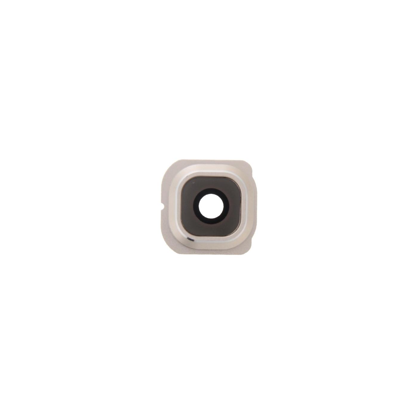 Lente fotocamera Camera Lens + Frame Holder Samsung Galaxy S6 Edge G925 gold