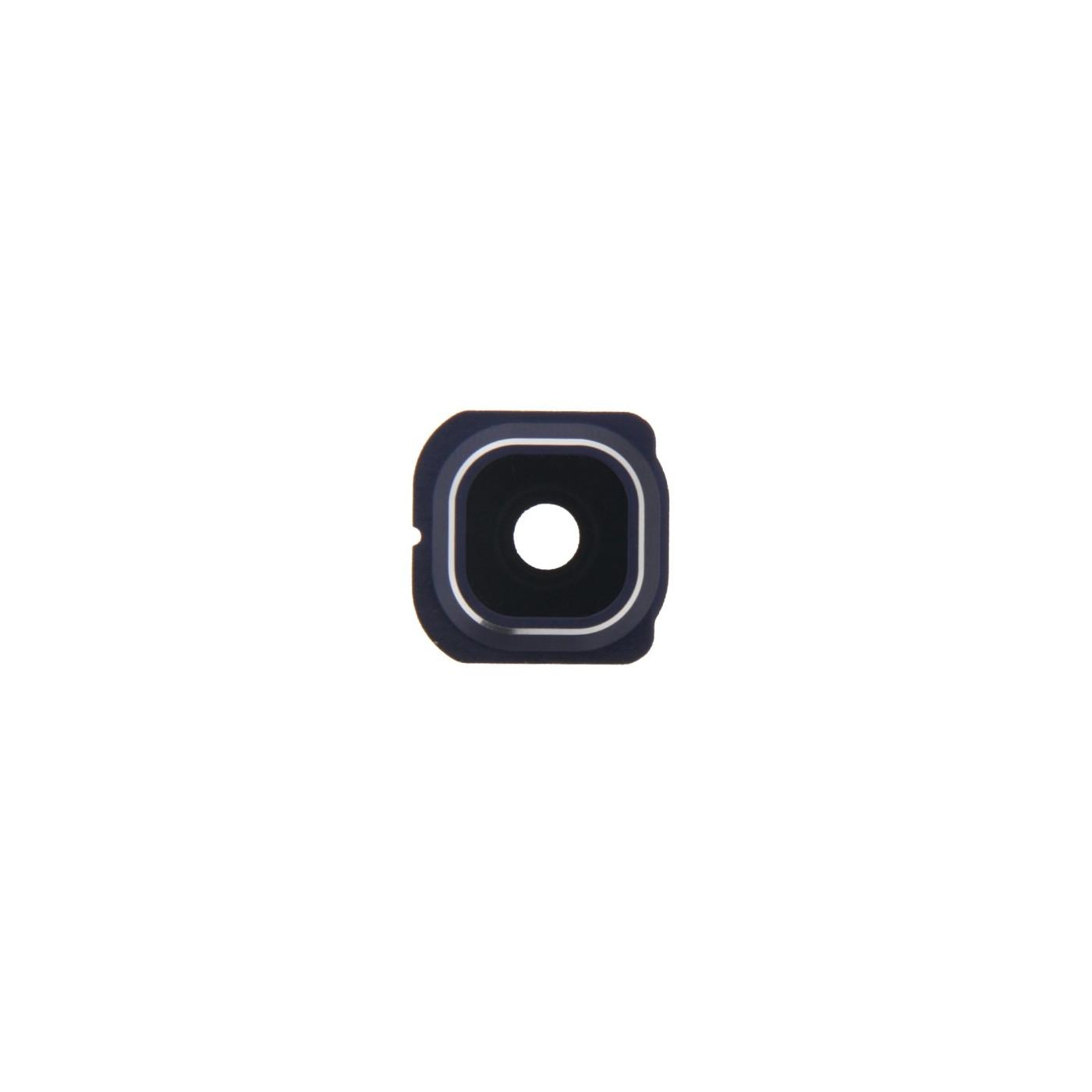 Lente fotocamera Camera Lens + Frame Holder Samsung Galaxy S6 Edge G925 blu