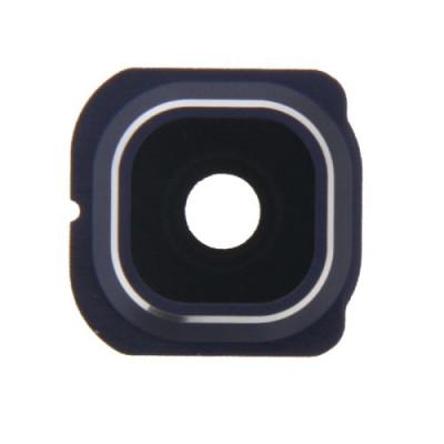 Kameraobjektiv + Rahmen Blaues Objektiv Samsung Galaxy S6 Rand G925 Kameraobjektiv