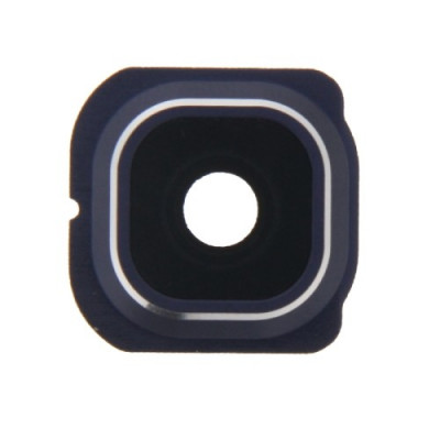 Lente de la cámara + Marco Lente azul Lente de la cámara Samsung Galaxy S6 Edge G925