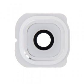 Lente fotocamera Camera Lens + Frame Holder Samsung Galaxy S6 Edge G925 bianco