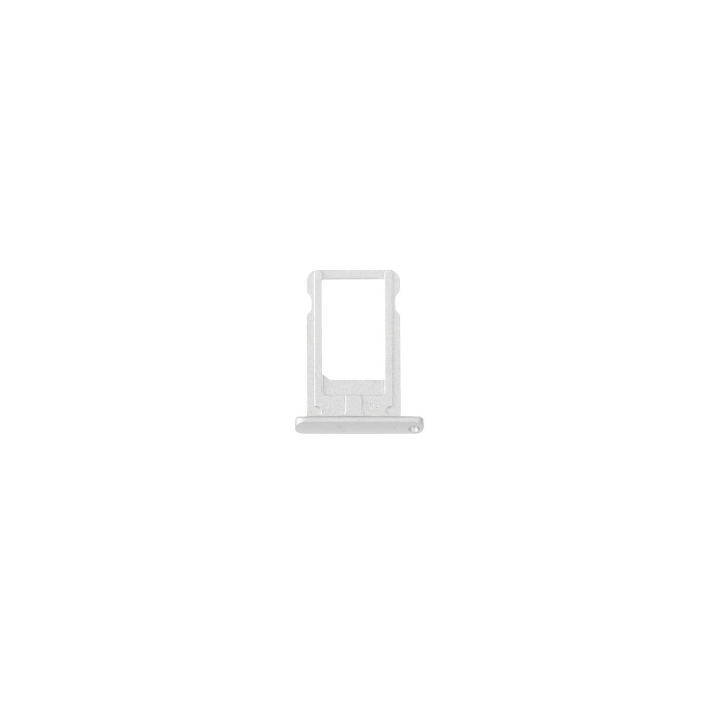 Trineo con soporte para tarjeta SIM para iPad mini 3 Reemplazo de carrito plateado