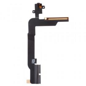 Conector de audio para auriculares para iPad 4 Reemplazo de auriculares planos y flexibles