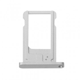 Tarjetero para iPad Air 2 - iPad 6 Silver spare cart